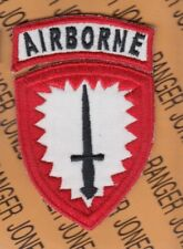 US Army Special Operations Command Europe SOCEUR Odd Variant tab patch set A