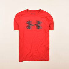 Under Armour KID/'S UA coolswitch Aderente T-Shirt-ymd Rosso 9-10