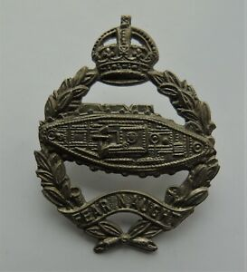British Army Royal Tank Regiment Beret Badge