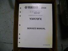 2008 Yamaha Yxr700 Fx Rhino 700 Fuel Injected Factory Service Manual