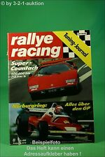 Rallye Racing 8/76 BMW 633 CSI Countach Opel GS/E + Poster