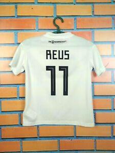 Reus Germany Jersey 2018 Youth 9-10 Shirt Adidas Boys Trikot Kids Maglia BQ8460