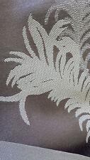 Upholstery sofa ottoman footstool curtain material fabric palm leaves mushroom