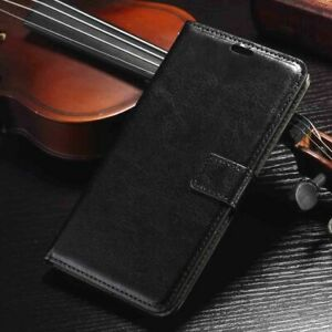 New Samsung Note 9 S8+ S9+ Luxury Magnetic Flip Leather Wallet Stand Case Cover