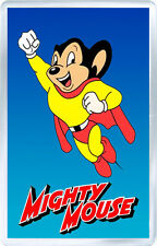 MIGHTY MOUSE FRIDGE MAGNET IMAN NEVERA