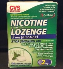 Smoking Cessation Lozenges