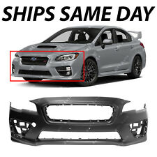 NEW Primered Front Bumper Cover Fascia Replacement for 2015-2017 Subaru WRX STI