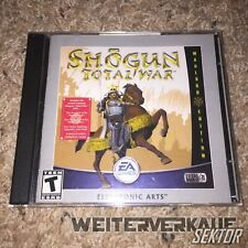 EA SHOGUN: TOTAL WAR- WARLORD EDITION, 2002 2 Discs and Manual