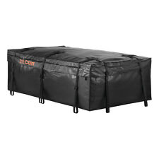 Waterproof Roof Rack Cargo Carrier Bag Car Exterior Travel Storage 21 Cubic Feet