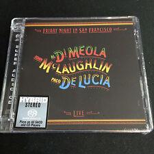Al Di Meola Friday Night in San Francisco Hybrid SACD CD NEW Limited No. Edit.