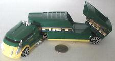 """Hot Wheels Green Warthog Semi Truck 8"""" NICE"""