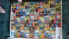 TOY STORY SKYBOX UNCUT TRADING CARD SHEET Signed RARE