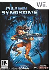 ALIEN SYNDROME for Nintendo Wii - with box & manual - PAL