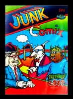 JUNK COMIX, 1971, ONLY PRINTING, DO CITY PRODUCTIONS, UNDERGROUND COMIC