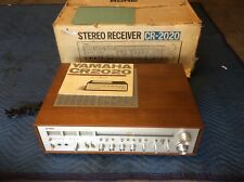 Vintage Yamaha CR-2020 Natural Sound Stereo Receiver/Amplifier - BOX-MANUAL