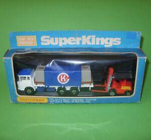 Matchbox Superkings / K34 DAF Pallet Truck & Lansing FLT / Boxed