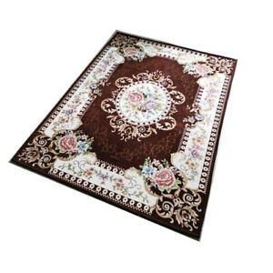 Weaving Floor Mat Room Europe Washable Carpet Jacquard Area Rugs Bathroom