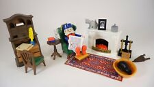 Playmobil 5300 5310~Victorian Mansion Dollhouse~Grandfather's Den Set~COMPLETE!!