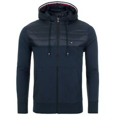$199 New Mens Tommy Hilfiger Quilted Mixed Media Panel...