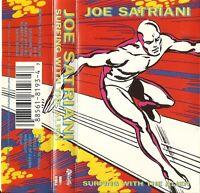Joe Satriani - Surfing With The Alien(Cassette 1987 Relativity) Silver Surer ART
