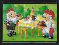 Jouet kinder puzzle 2D Nains de métier n°3 Allemagne 1993 + étui +BPZ