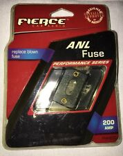 "Fierce Car Audio - 200-Amp Anl Fuses - Ffan200 ""02"""
