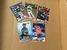 Miami Marlins 2018 Topps Opening Day 5 card lot with Ichiro Billy the Marlin