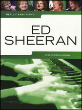 Really Easy Piano Ed Sheeran Sheet Music Book