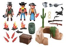 PLAYMOBIL 5250 Escondite de los Bandidos Western Oeste Pistoleros Cowboys NUEVO