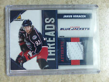 10-11 Panini Pinnacle Threads Authentic Patch #VO JAKUB VORACEK /10