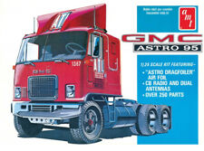 GMC Astro 95 Semi Tractor Cabover Truck 1:25 Scale AMT Detailed Plastic Kit