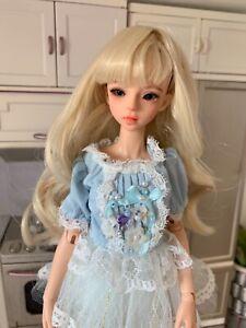 Gorgeous 1/6 bjd myou Gina barbie blythe size fullset lot 2 recast