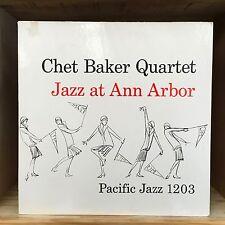 Chet Baker Quartet Jazz at Ann Arbor LP World Pacific Records PJ 1203 V-5510-621