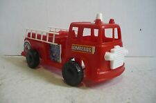 Mexican Fire Truck - Car Plastic toy - Made in Mexico