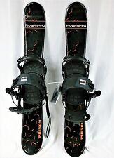 ONE LATCH, Snowblade Package, 90cm FiveFortyPhenom WIDE Blades, HEAD RX Bindings