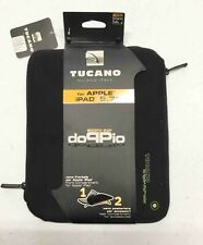 Tucano for Apple Ipad 9.7-Black - Second Skin Doppio Neoprene Netbook Carrier