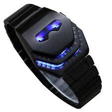 Men's Peculiar COOL Gadgets Wristwatch Novelty Snake Head Design Blue LED Watch