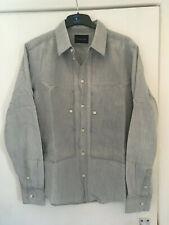 Nom de Guerre cotton shirt light grey size XL made in Japan