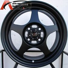 15X6.5 ROTA SLIPSTREAM RIM 4X100 WHEELS FITS 4 LUG  CIVIC CRX XA XB FIT INTEGRA