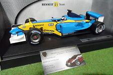 F1 RENAULT R23 Jarno TRULLI au 1/18 de HOT WHEELS MATTEL B7019 formule 1 voiture