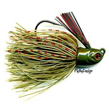 NEW Stanley WATERMELON RED Rattler Flat Eye Glitter Head Jig