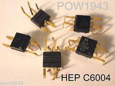 ( 10 PC, ) MOTOROLA HEP C6004 8 PIN DIP, 1 WATT AUDIO CHIP