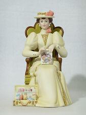 Avon Full Size MRS ALBEE Porcelain Victorian Lady Figurine 2011