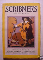 SCRIBNER'S October 1926 HENDRIK VAN LOON EUGENE O'NEILL