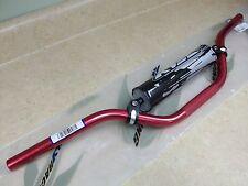 RED FLY ALUMINUM HANDLEBARS BARS MINI HONDA CR80 CR85 CRF150R CR 80 85 CRF 150