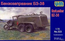 UM BZ-38 Rifornitori fissi Camion cisterna RKKA GAZ-AAA 1:72 Modello Kit