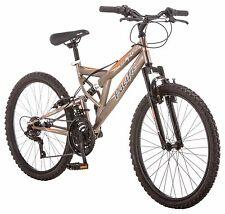 "24"" Pacific Boy's Derby Dual Suspension Mountain Bike, Bronze"