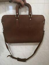 Bag Leather Vintage Men Messenger Shoulder Satchel School Briefcase Laptop Tote