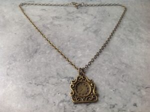 """Disneys Beauty and the Beast Cogsworth Clock Necklace Toggle Clasp 20"""""""