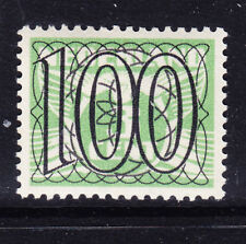NETHERLANDS 1940 Surcharge SG537 100 on 3c green - unmounted mint. Cat £55